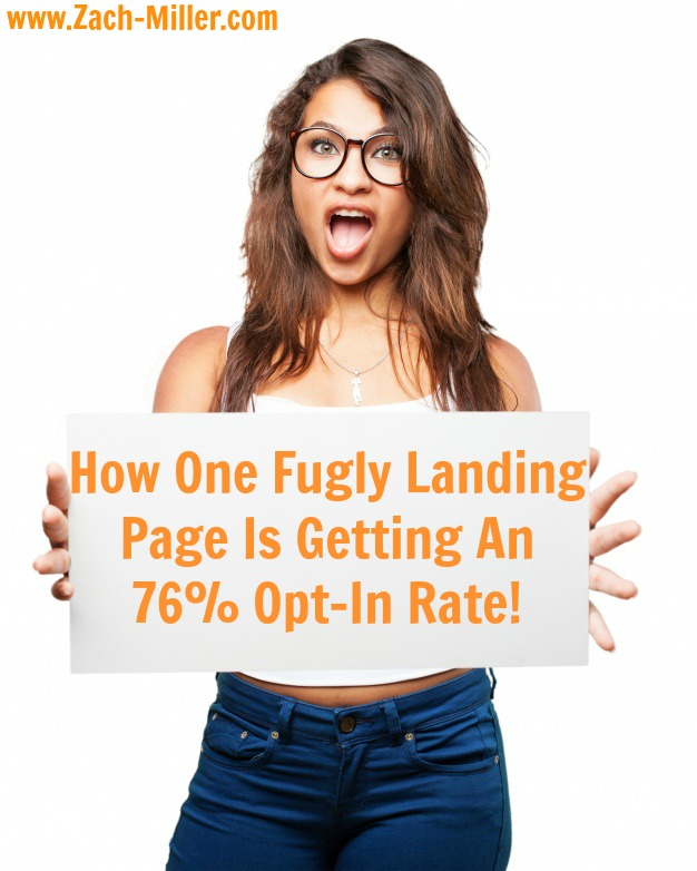 Fugly Landing Page